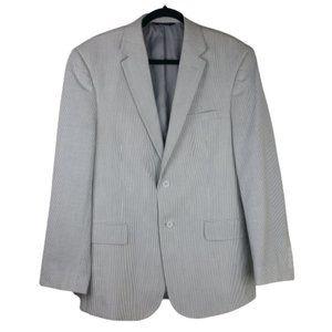Jos A. Banks Seersucker Blazer/Jacket Men's